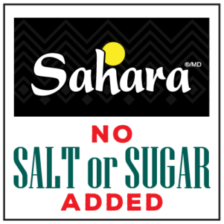 Sahara - No Salt or Sugar added